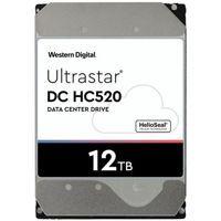 Hard Disk Drive Western Digital Ultrastar DC HC520 (He12) 3.5'' HDD 12TB 7200RPM SATA 6Gb/s 256MB   0F30141