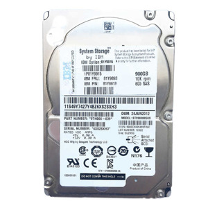 Hard Disc Drive dedicated for Lenovo server 2.5'' capacity 900GB 10000RPM HDD SAS 6Gb/s 81Y9893 | 81Y9913 | ST9900805SS