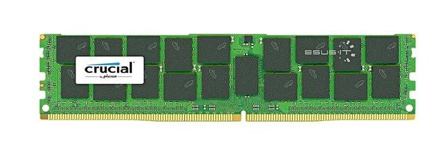 Memory RAM 1x 32GB Crucial ECC LOAD REDUCED DDR4  2666MHZ PC4-21300 LRDIMM | CT32G4LFD4266